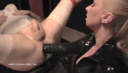 Anal orgy sissy fisting