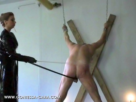 German mistress hard caning and strapping fm 8